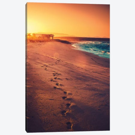 Footsteps Canvas Print #ZDO53} by Zach Doehler Art Print