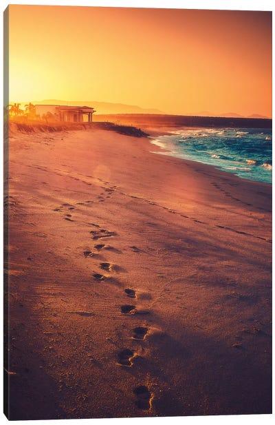 Footsteps Canvas Art Print