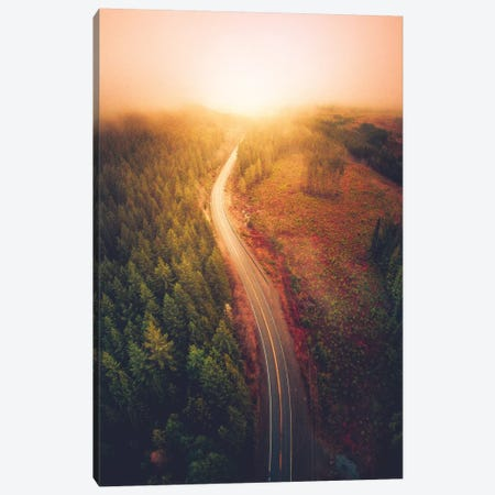 Guided By Light Canvas Print #ZDO57} by Zach Doehler Canvas Wall Art