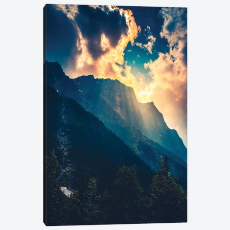 Incredible Displays Of Light 3-Piece Canvas #ZDO59} by Zach Doehler Canvas Art Print