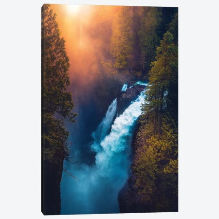 Into The Abyss 3-Piece Canvas #ZDO60} by Zach Doehler Canvas Wall Art