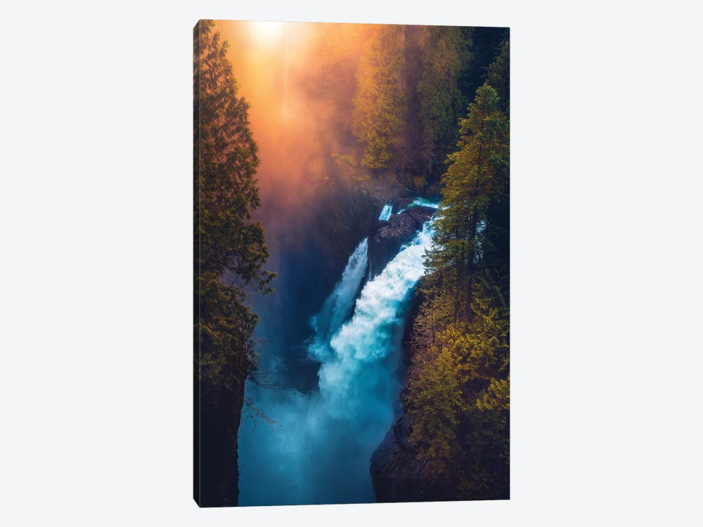 Into The Abyss by Zach Doehler 1-piece Canvas Art
