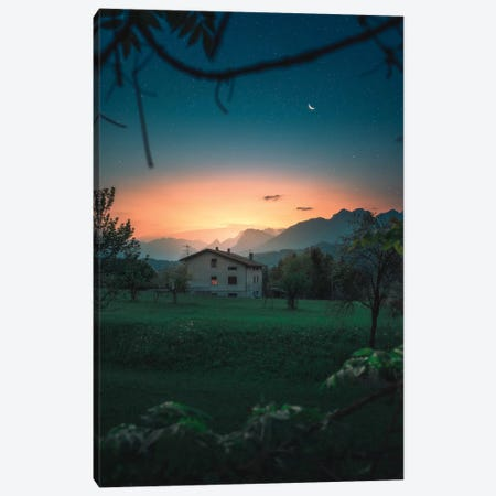 A Quiet Twilight Canvas Print #ZDO65} by Zach Doehler Canvas Print