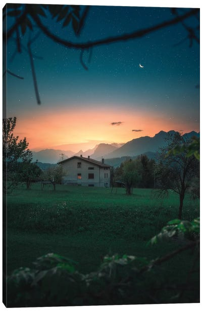 A Quiet Twilight Canvas Art Print