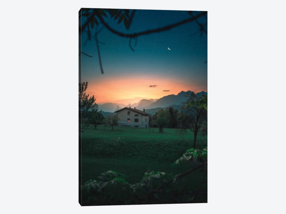 A Quiet Twilight by Zach Doehler 1-piece Canvas Art Print