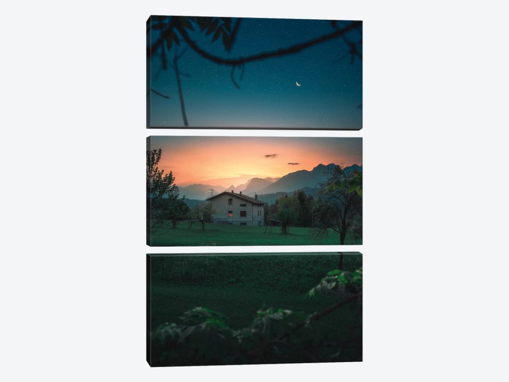 A Quiet Twilight by Zach Doehler 3-piece Art Print