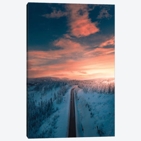 Arctic Pass Canvas Print #ZDO67} by Zach Doehler Canvas Print