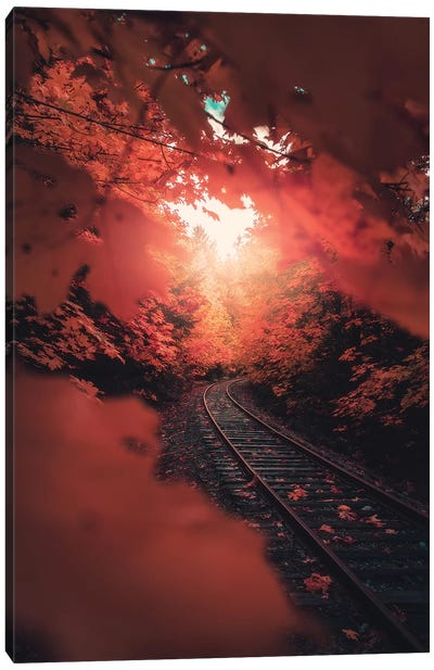 Autumn Express Canvas Art Print