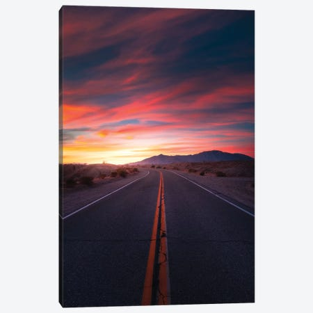 The Highway Of Colours Canvas Print #ZDO78} by Zach Doehler Art Print