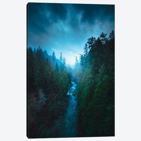 The River Of Light 3-Piece Canvas #ZDO79} by Zach Doehler Art Print