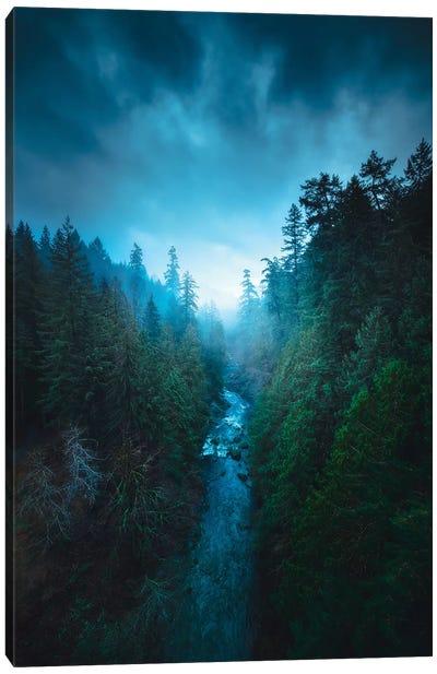 The River Of Light Canvas Art Print