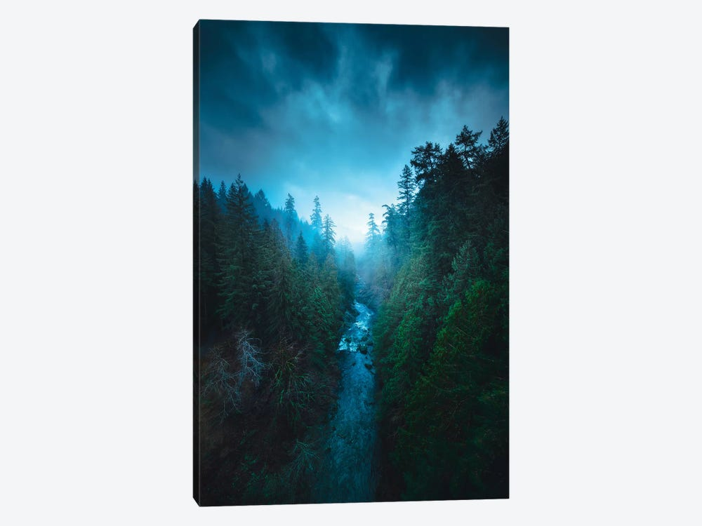 The River Of Light by Zach Doehler 1-piece Canvas Art