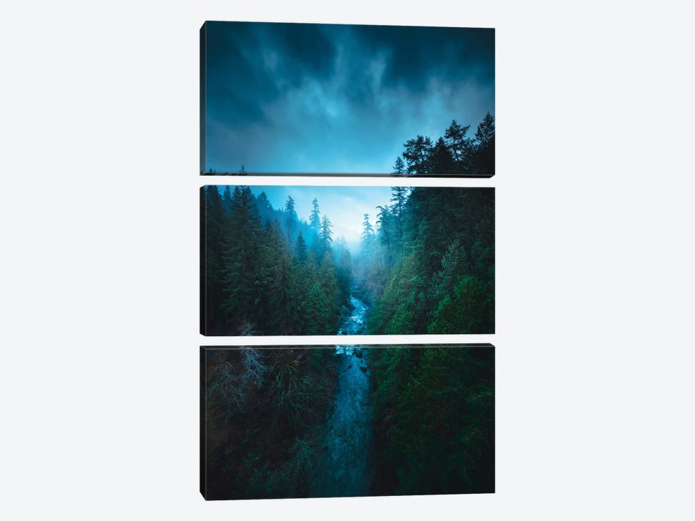 The River Of Light by Zach Doehler 3-piece Canvas Artwork