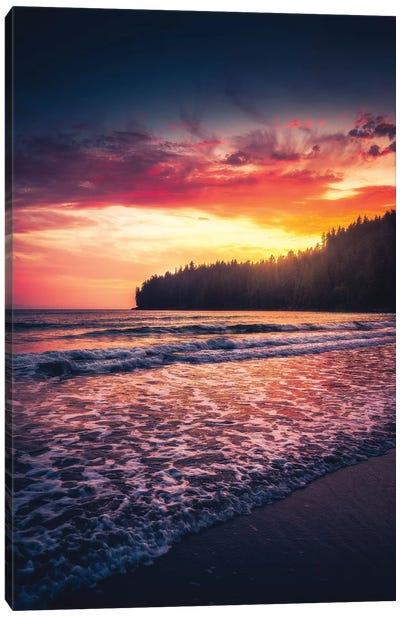 Oceanside Tranquility Canvas Art Print