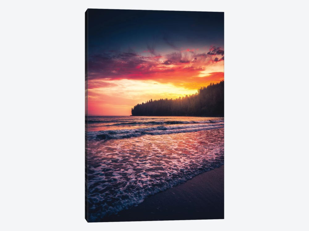 Oceanside Tranquility by Zach Doehler 1-piece Canvas Art Print