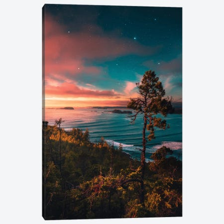 A Collision Of Colours Canvas Print #ZDO81} by Zach Doehler Canvas Art