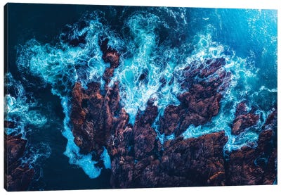 Aerial Abstracts Canvas Art Print