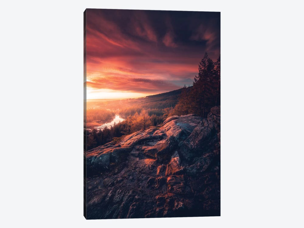 Graced With Light by Zach Doehler 1-piece Canvas Print