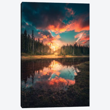 Enlighten Canvas Print #ZDO88} by Zach Doehler Canvas Art