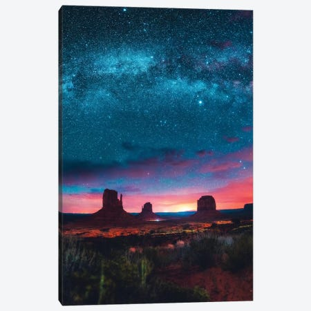 Galactic Canopy 3-Piece Canvas #ZDO89} by Zach Doehler Canvas Wall Art