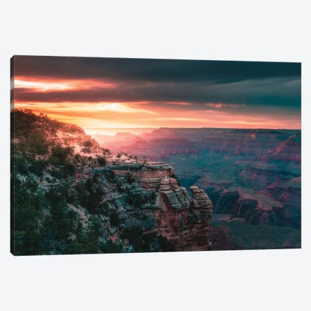Lost In The Landscape Canvas Print #ZDO93} by Zach Doehler Art Print