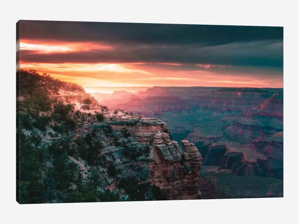 Lost In The Landscape by Zach Doehler 1-piece Canvas Wall Art