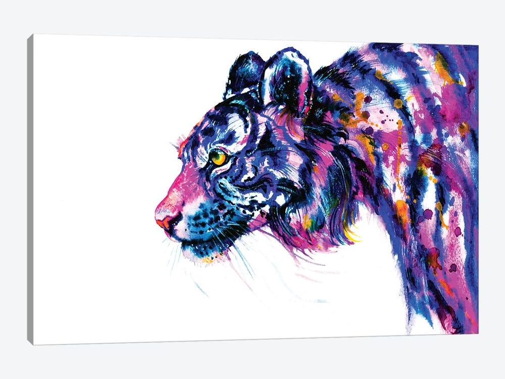 Tiger Glance by Zaira Dzhaubaeva 1-piece Canvas Art Print