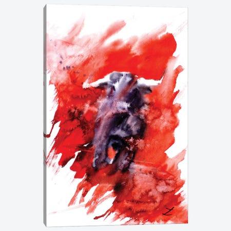 Toro Canvas Print #ZDZ118} by Zaira Dzhaubaeva Art Print
