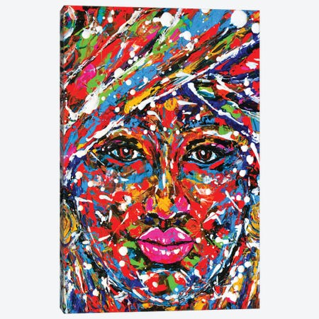 Beauty 3-Piece Canvas #ZDZ11} by Zaira Dzhaubaeva Canvas Art