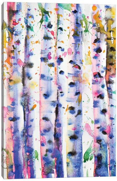 Birch Trees Canvas Art Print