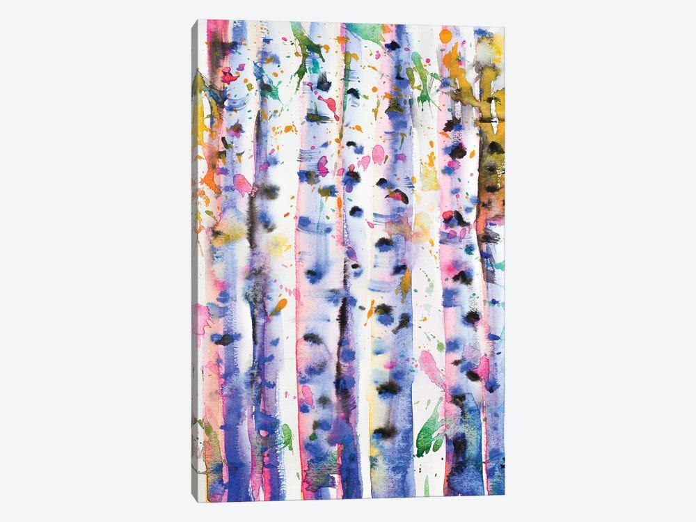 Birch Trees by Zaira Dzhaubaeva 1-piece Canvas Art