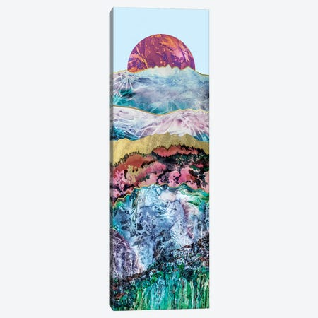 Mountain Landscape  3-Piece Canvas #ZDZ152} by Zaira Dzhaubaeva Canvas Print