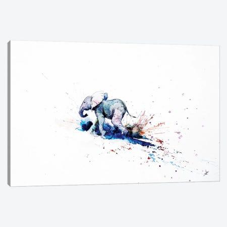 Wait For Me Watercolor   Canvas Print #ZDZ166} by Zaira Dzhaubaeva Canvas Art Print