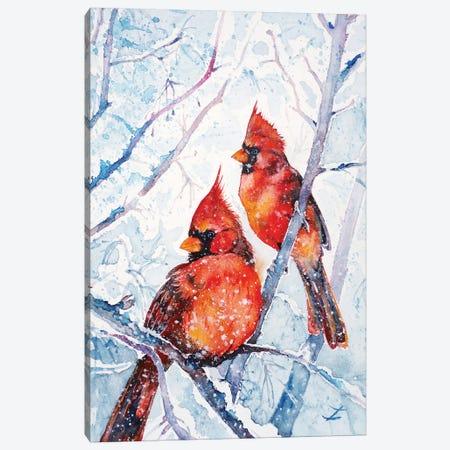 Flames Of Winter Canvas Print #ZDZ172} by Zaira Dzhaubaeva Canvas Print