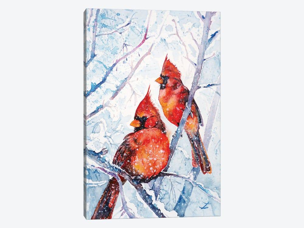 Flames Of Winter by Zaira Dzhaubaeva 1-piece Canvas Wall Art