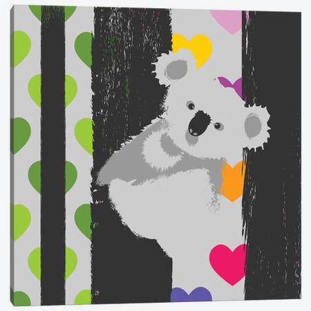 Save Koala Canvas Print #ZDZ214} by Zaira Dzhaubaeva Canvas Art Print