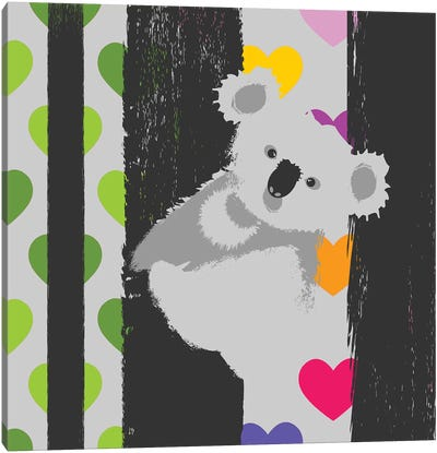 Save Koala Canvas Art Print