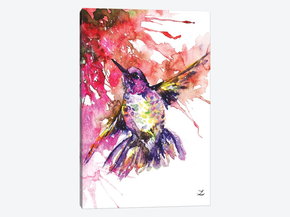 Hummingbird by Zaira Dzhaubaeva 1-piece Canvas Art