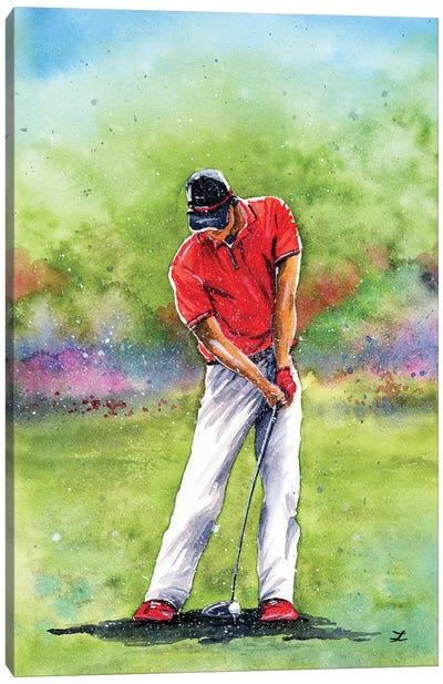Golf Time Canvas Art Print