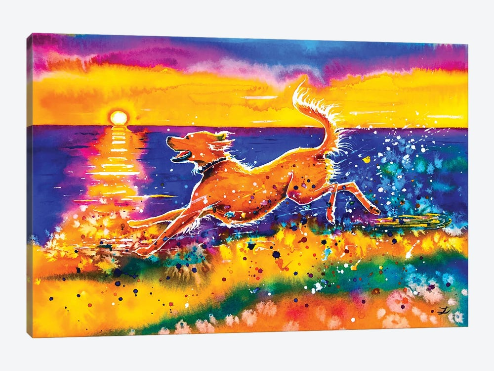 Catching The Sun by Zaira Dzhaubaeva 1-piece Canvas Art