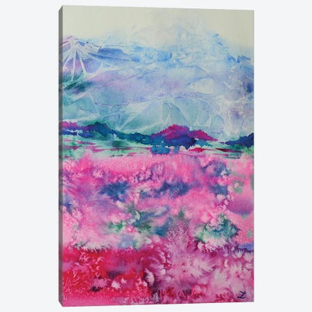 Alpine Colors Canvas Print #ZDZ2} by Zaira Dzhaubaeva Canvas Art Print