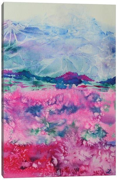 Alpine Colors Canvas Art Print