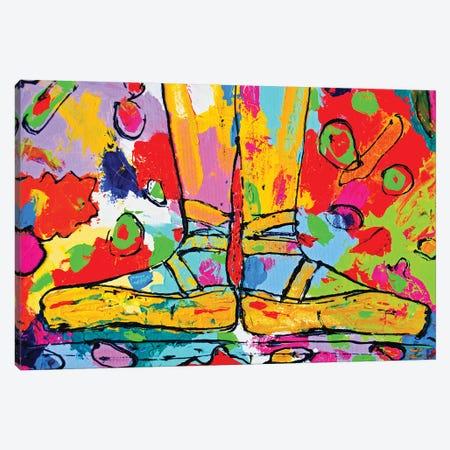 First Position 3-Piece Canvas #ZDZ42} by Zaira Dzhaubaeva Canvas Print