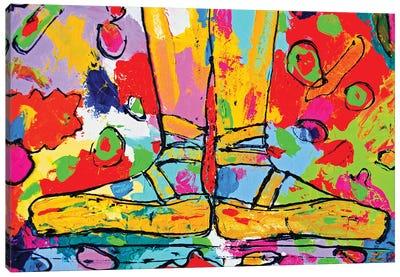 First Position Canvas Art Print