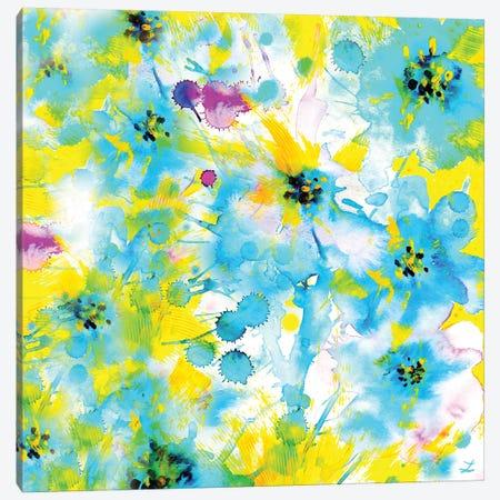 Happy Summer 3-Piece Canvas #ZDZ54} by Zaira Dzhaubaeva Canvas Art Print