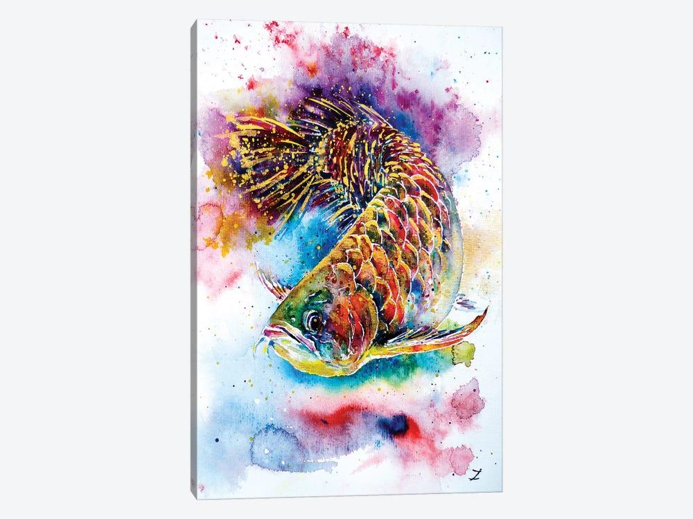 Magic Of Arowana by Zaira Dzhaubaeva 1-piece Canvas Art