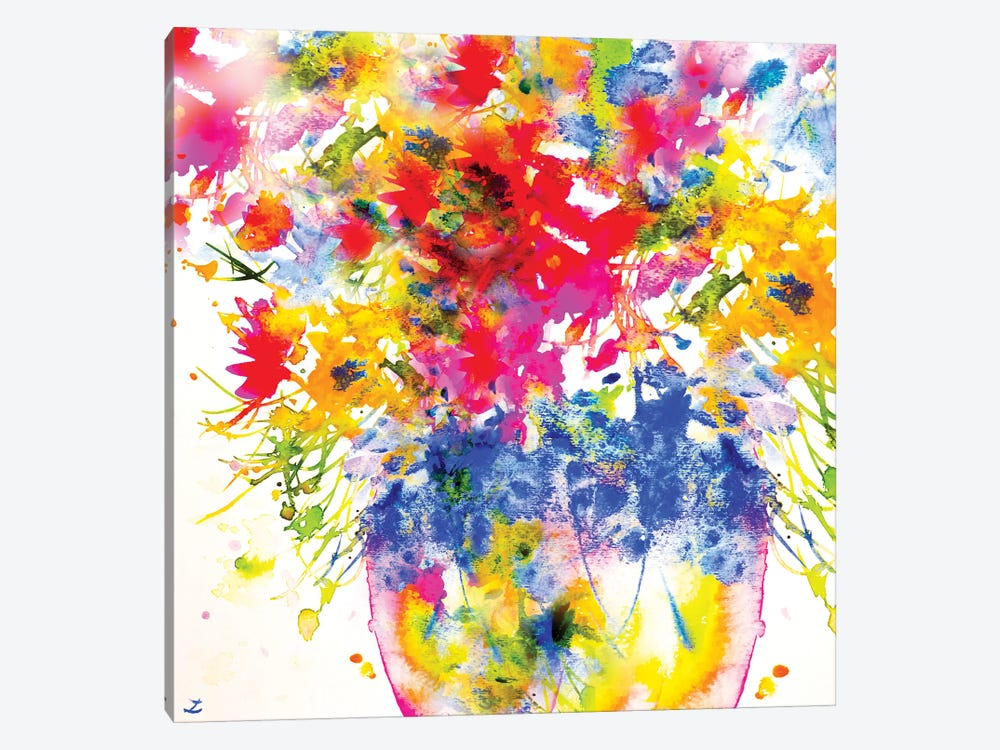 Morning Flowers 1-piece Canvas Art