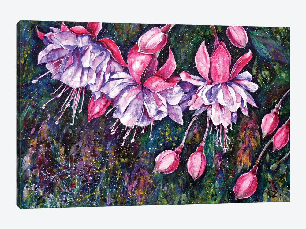 Pendientes de la Reina by Zaira Dzhaubaeva 1-piece Canvas Wall Art