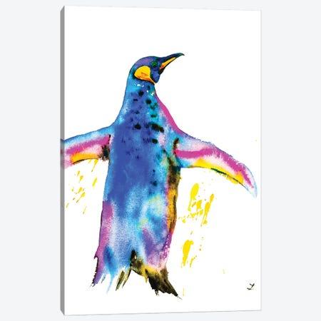 Penguin Canvas Print #ZDZ86} by Zaira Dzhaubaeva Canvas Wall Art