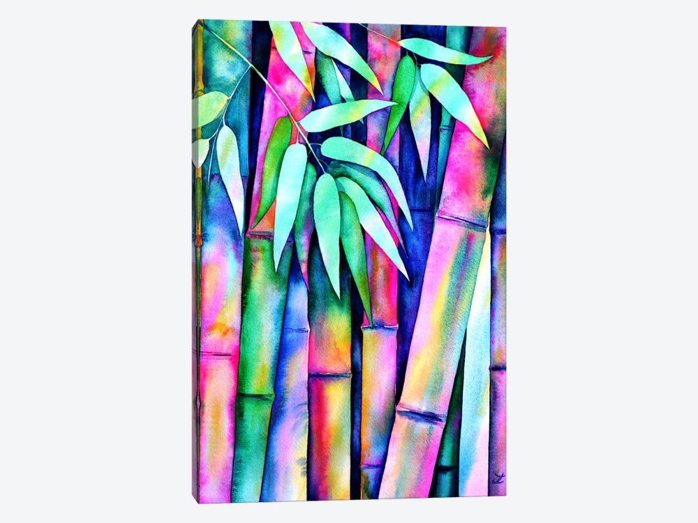 Rainbow Bamboo 1-piece Art Print
